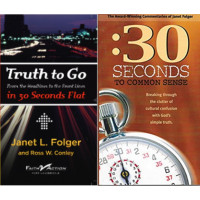 Truth To Go & :30 Seconds to Common Sense